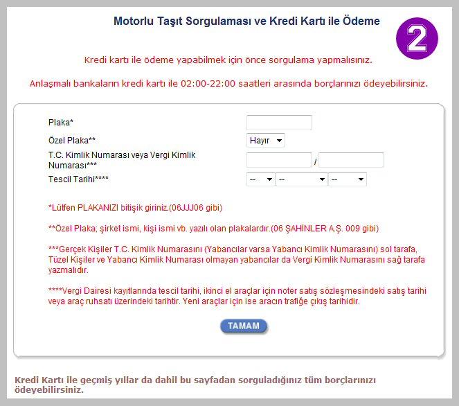 trafik cezası Ödeme - İnternetten trafik cezası Ödeme / e